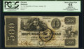 Obsoletes By State:Texas, Austin, TX- Republic of Texas $500 Jan. 1, 1840 Cr. A9 Medlar 29 PCGS Apparent Choice About New 55.. ...