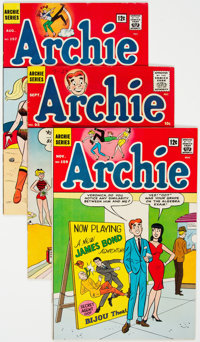 Archie Comics Group of 18 (Archie, 1958-67) Condition: Average FN+.... (Total: 18 Comic Books)