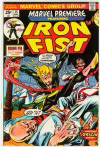 Marvel Premiere #15 Iron Fist (Marvel, 1974) Condition: FN+
