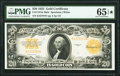 Large Size:Gold Certificates, Fr. 1187 $20 1922 Gold Certificate PMG Gem Uncirculated 65 EPQ★ .. ...
