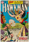Silver Age (1956-1969):Superhero, Hawkman #1 (DC, 1964) Condition: VG/FN....