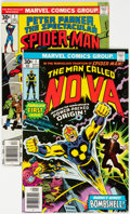 Bronze Age (1970-1979):Superhero, Nova #1 and Spectacular Spider-Man #1 (Marvel, 1976) Condition: Average VF/NM.... (Total: 2 Items)