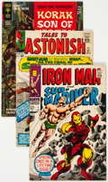 Silver Age (1956-1969):Miscellaneous, Comic Books - Assorted Silver Age Comics Group (Gold Key/Marvel, 1964-68) Condition: Average FN-.... (Total: 3 Items)