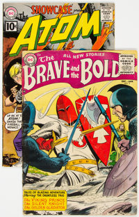 Brave And The Bold #3 and Showcase #35 (DC, 1956-61) Condition: Apparent VG.... (Total: 2 Items)
