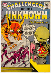 Challengers of the Unknown #1 (DC, 1958) Condition: VG