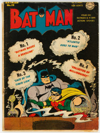 Batman #19 (DC, 1943) Condition: GD/VG