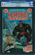Bronze Age (1970-1979):Science Fiction, Kamandi, the Last Boy on Earth #3 (DC, 1973) CGC NM- 9.2 Off-white to white pages.