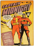 Golden Age (1938-1955):Superhero, Captain Midnight #1 (Fawcett Publications, 1942) Condition: VG....