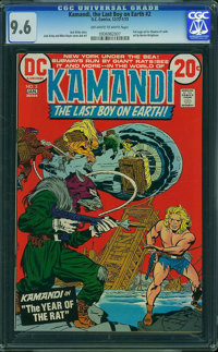 Kamandi, the Last Boy on Earth #2 (DC, 1973) CGC NM+ 9.6 Off-white to white pages