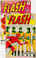 Silver Age (1956-1969):Superhero, The Flash #105 and 106 Group (DC, 1959) Condition: Average GD-.... (Total: 2 Items)