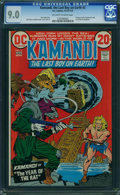 Bronze Age (1970-1979):Science Fiction, Kamandi, the Last Boy on Earth #2 (DC, 1973) CGC VF/NM 9.0 Off-white to white pages.