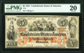 Confederate Notes:1861 Issues, T31 $5 1861 PF-1 Cr. 243 PMG Very Fine 20.. ...