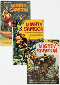Mighty Samson Group of 27 (Gold Key, 1964-78) Condition: Average VG.... (Total: 27 )