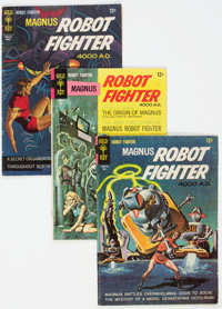 Magnus Robot Fighter Group of 34 (Gold Key, 1963-76) Condition: Average VG.... (Total: 34 )