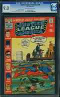 Bronze Age (1970-1979):Superhero, Justice League of America #90 (DC, 1971) CGC VF/NM 9.0 Off-white to white pages.