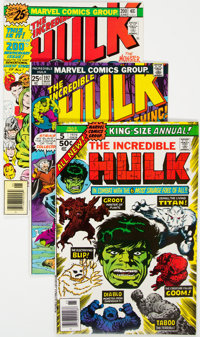 The Incredible Hulk #195-237 Group (Marvel, 1976-79) Condition: Average NM-.... (Total: 47 Comic Books)