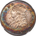 1820 25C Medium 0, B-3, R.3, MS64 NGC. CAC....(PCGS# 38962)