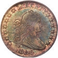 1806 50C Pointed 6, No Stem, O-109, T-15, R.1, MS63 PCGS. CAC....(PCGS# 39310)