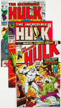 Silver Age (1956-1969):Superhero, The Incredible Hulk Group of 12 (Marvel, 1968-74) Condition: Average FN/VF.... (Total: 12 Comic Books)
