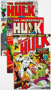 The Incredible Hulk Group of 12 (Marvel, 1968-74) Condition: Average FN/VF.... (Total: 12 Comic Books)