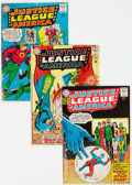 Silver Age (1956-1969):Superhero, Justice League of America Group of 10 (DC, 1962-71) Condition: Average GD/VG.... (Total: 10 Items)