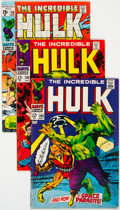 Silver Age (1956-1969):Superhero, The Incredible Hulk Group of 23 (Marvel, 1968-75) Condition: Average VG/FN.... (Total: 23 Comic Books)