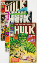 Silver Age (1956-1969):Superhero, The Incredible Hulk Group of 28 (Marvel, 1968-75) Condition: Average VG.... (Total: 28 Comic Books)