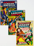 Silver Age (1956-1969):Superhero, Justice League of America Group of 18 (DC, 1965-72) Condit...