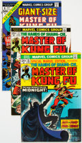 Bronze Age (1970-1979):Superhero, Master of Kung Fu Group of 93 (Marvel, 1970s-80s) Condition: Average FN/VF.... (Total: 93 Comic Books)