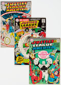 Silver Age (1956-1969):Superhero, Justice League of America Group of 19 (DC, 1966-74) Condition: Average VF.... (Total: 19 Items)