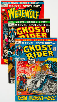 Marvel Spotlight Group of 13 (Marvel, 1971-74) Condition: Average FN-.... (Total: 13 Items)