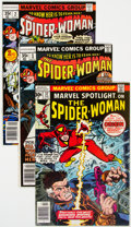 Bronze Age (1970-1979):Superhero, Spider-Woman Group of 16 (Marvel, 1977-81) Condition: Aver...