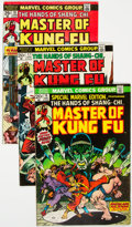 Bronze Age (1970-1979):Superhero, Master of Kung Fu Group of 36 (Marvel, 1973-81) Condition: Average FN.... (Total: 36 Items)