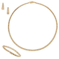 Gold Jewelry Suite ... (Total: 3 Items)
