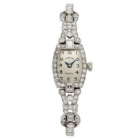 Hamilton Lady's Diamond, White Gold Watch