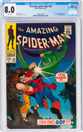 Silver Age (1956-1969):Superhero, The Amazing Spider-Man #49 (Marvel, 1967) CGC VF 8.0 White pages....