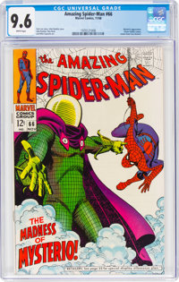The Amazing Spider-Man #66 (Marvel, 1968) CGC NM+ 9.6 White pages