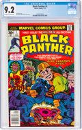 Bronze Age (1970-1979):Superhero, Black Panther #1 (Marvel, 1977) CGC NM- 9.2 Off-white to white pages....