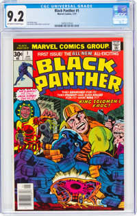 Black Panther #1 (Marvel, 1977) CGC NM- 9.2 Off-white to white pages