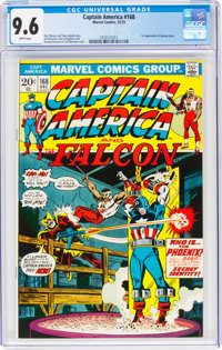 Captain America #168 (Marvel, 1973) CGC NM+ 9.6 White pages