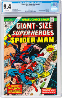 Giant-Size Super-Heroes #1 (Marvel, 1974) CGC NM 9.4 White pages