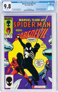 Marvel Team-Up #141 (Marvel, 1984) CGC NM/MT 9.8 White pages
