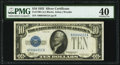 Fr. 1700 $10 1933 Silver Certificate. PMG Extremely Fine 40