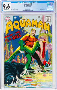 Aquaman #37 (DC, 1968) CGC NM+ 9.6 Off-white pages