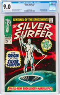 The Silver Surfer #1 (Marvel, 1968) CGC VF/NM 9.0 Cream to off-white pages