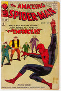 Silver Age (1956-1969):Superhero, The Amazing Spider-Man #10 (Marvel, 1964) Condition: FR/GD....