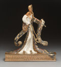 Sculpture, Erté (Romain de Tirtoff) (Russian/French, 1892-1990). Rigoletto, 1988. Partial gilt and cold painted bronze . 19-1/2 x 1...