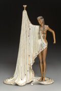 Sculpture, Erté (Romain de Tirtoff) (Russian/French, 1892-1990). The Slave, 1988. Partial gilt and cold painted b...