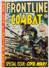 Frontline Combat #9 (EC, 1952) Condition: VG+