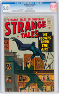 Silver Age (1956-1969):Horror, Strange Tales #58 (Atlas, 1957) CGC VG/FN 5.0 Off-white pages....
